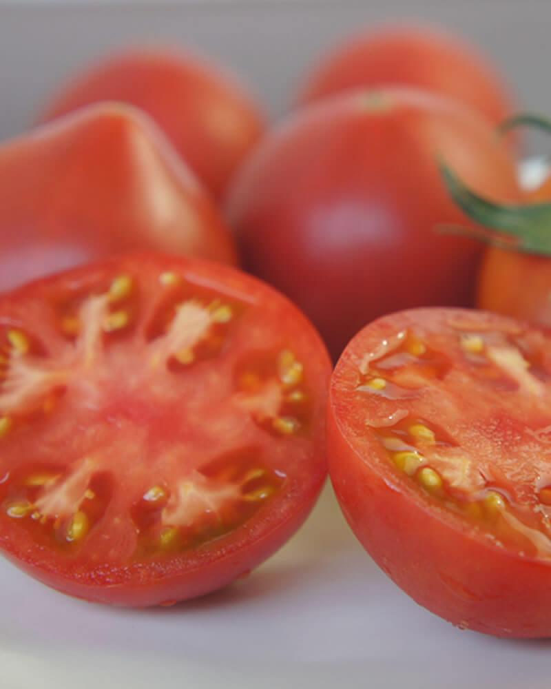 産毛のあるまほろばトマト